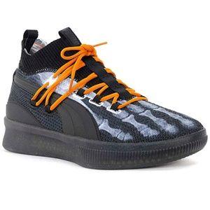 PUMA Men's Clyde Court X Halowen Black Shoes12